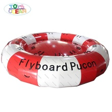 Inflatable Towable น้ำของเล่น DISCO Fly เรือเกม