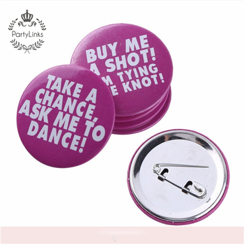 Hen party funny sexy badge button pin for Bachelorette Party