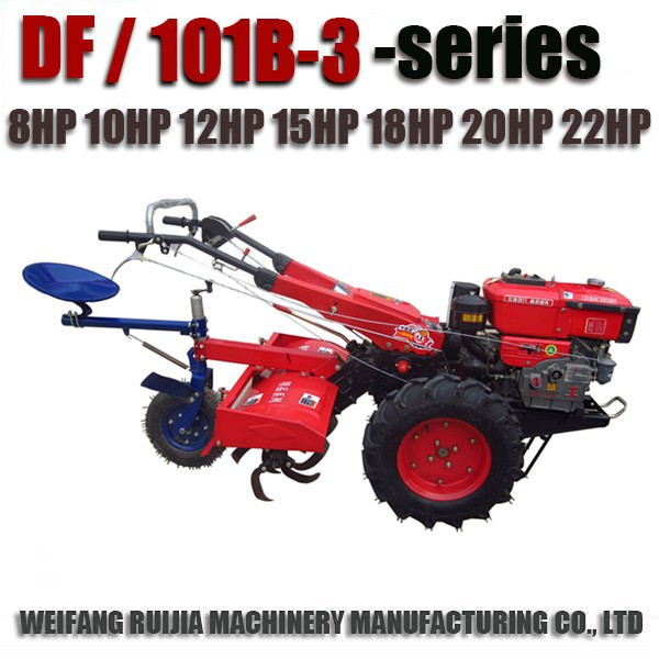 China Two-wheeled Diesel Used Small Engines Walking Tractors/mini ...