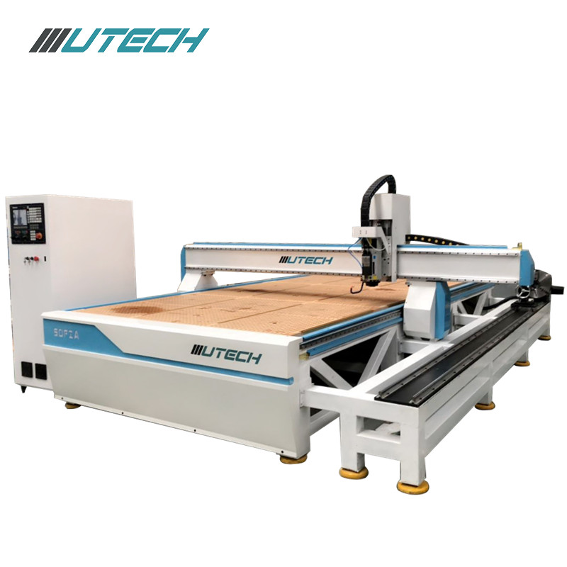 2000*4000mm atc wood cnc router center with 8 PCS tool changes