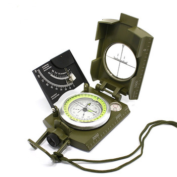 IP65 Waterproof Compass with Sighting Clinometer Professional Military Compass