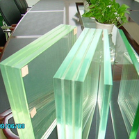 GaoMing New Building Laminated Glass Customized toughened Glass for Door