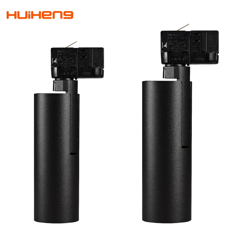 HH34 New Customized Hotsale 10W 12W 15W 20W 30W Dimmable SAA Zoomable Spot Housing Adjustable Cob Led Track Light