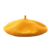 Winter warm cheap  Yellow woolen military berets students beret student ladies wool beret hats for women