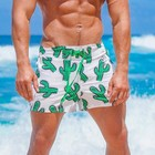 Custom made design your own fashion printed modest sexy men swimwear