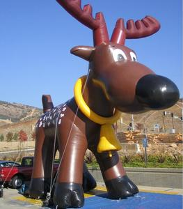 2019 Hot sale Giant Inflatable Moose for Christmas