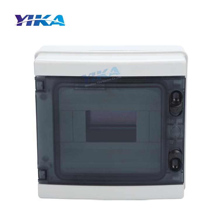 YIKA открытый/крытый пластиковый водонепроницаемый автоматический выключатель коробки mcb распределительная коробка питания