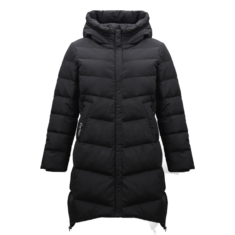 Women's Down Jacket  hooded long jackets  lady outwear winter jackets slim clothes for winter  TB18636