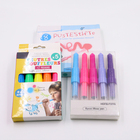 Plastic Hard Boxes Pack non tonic safe blow marker water color pen set
