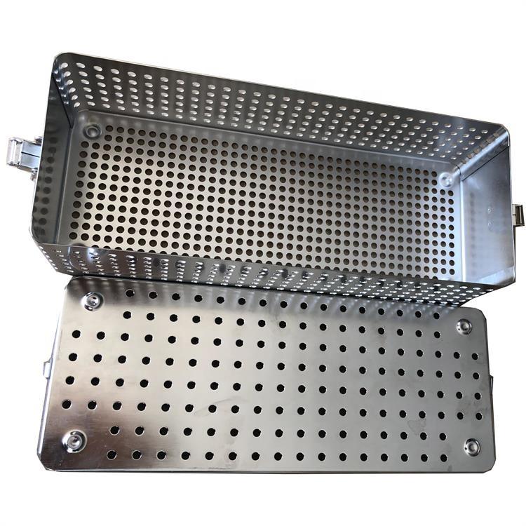 Корзины для хирургических инструментов из нержавеющей стали для дезинфекции