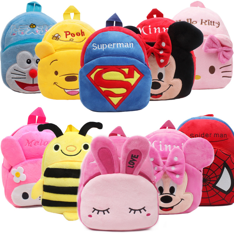 2019 wholesale 3D animal cartoon zoo back pack bags for kids cute backpack ruaksack for primary school boys and girls
