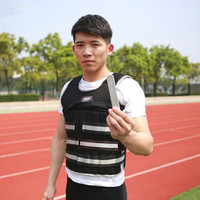 Adjustable Weighted Vest Training for Running, Workout, Cardio, Walking