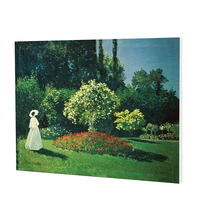 Canvas Wall Art Painting Woman in the Garden lady picture for Home Living Bedroom Office Decoration painting