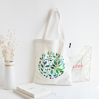 2020 Wholesale Promotional Cotton Canvas Tote Bag For Ladies Shopping