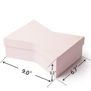 Matte lamination pink soap gift box custom design unique shape soap paper gift box soap packaging box
