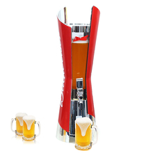 Draagbare drank Hot bottoms up bier <span class=keywords><strong>dispenser</strong></span> 3l draught beer toren drink <span class=keywords><strong>dispenser</strong></span> toren