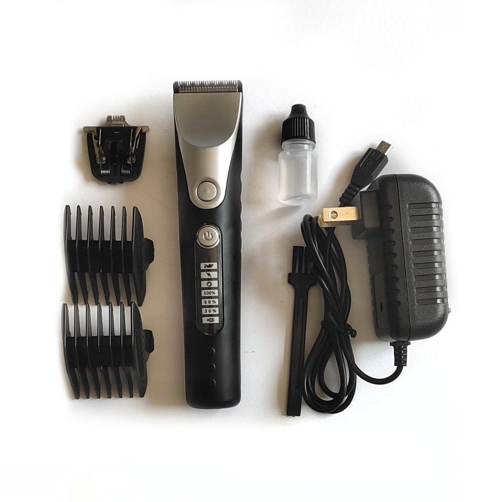 Professional Electric Rechargeable Barber <strong>Cordless</strong> <strong>Hair</strong> <strong>Clipper</strong>