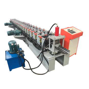 Low price rolling up cold steel iron door frame making machine