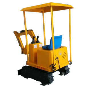 Amusement Park Kids Toy Electric Mini Excavator