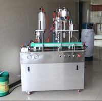 Agent Price Spray Paint Aerosol Tin Can Filling Machine