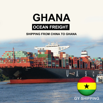 Sea freight shipping from China to Ghana