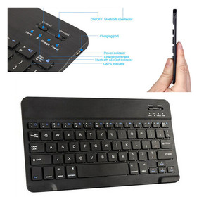 Portable mini bluetooth keyboard for 5 inch 7 inch android tablet iso tablet and smart phones