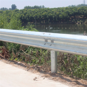 Best selling product in europe new design industry protect bridge safety corrugated highway guardrail