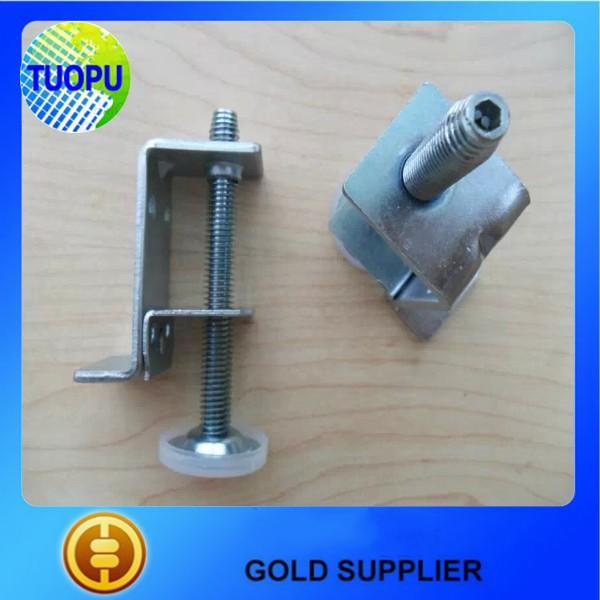 China Metal Table Slide Hardware Screen Usaged Clamp