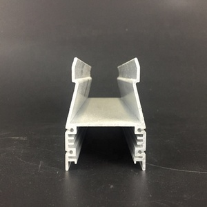 Aluminum extrusion housing for lighting
