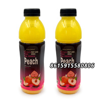 New coming Peach drink with sweet taste fruit juice