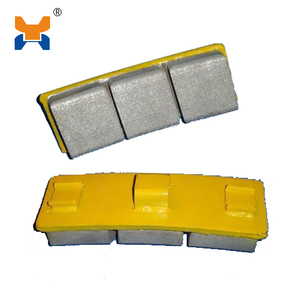 China locomotive braking system cast iron brake shoe
