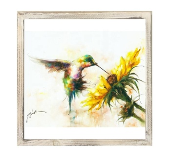 Bird Printed Canvas Wall Art Framed Painting Work