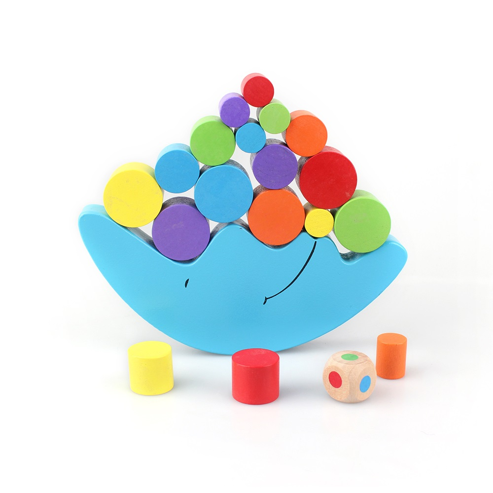 balance board game toy for children moon balance toy for kids intellect board game learning toys wooden