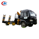 12T Mounted Crane Truck With Timber Grab