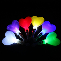 wholesale star heart white handle led cheering stick for part and wedding