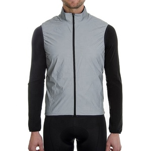 Mens road bike cycling safety reflecting vest