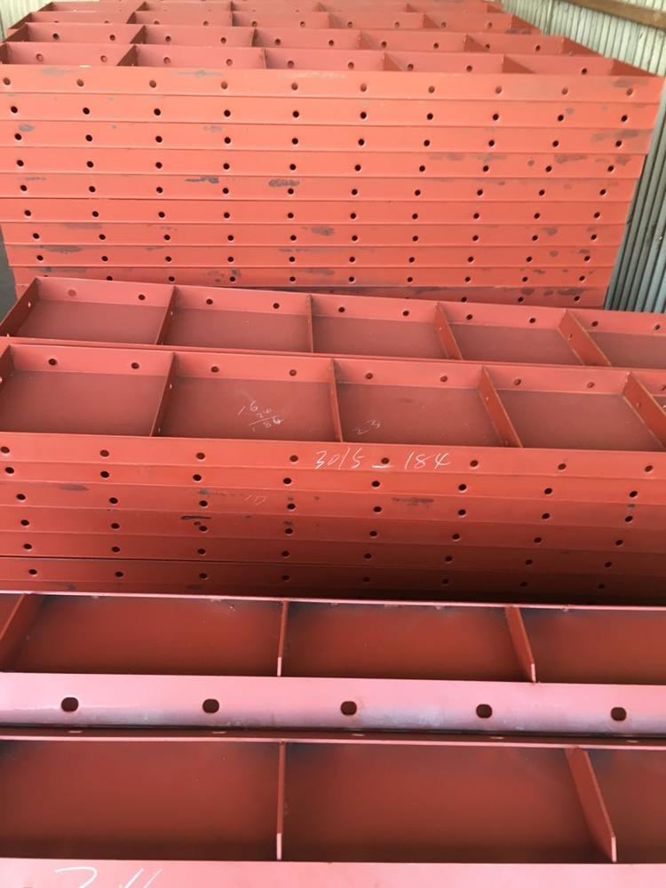 Concrete Plastic Sealed Plywood Framed Panel System Formwork