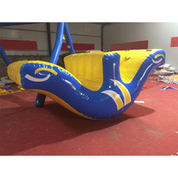 Funny water sport game inflatable seesaw /inflatable water totter slide /inflatable floating water toys for kids and adults