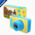 Kids Digital Camera Mini 2 Inch Screen Children's Camera with Memory Card Slot for Holiday Birthday Gift