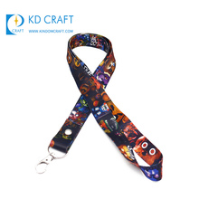 Hot koop fashion custom anime hals lint dubbelzijdig sublimatie leuke cartoon dier lanyard voor kids