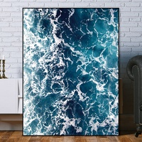 painting on canvas art Canvas painting seascape wall art decoration home seven wall arts