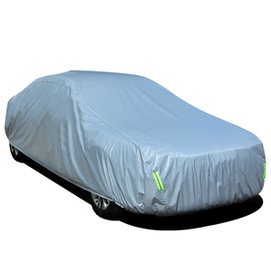 China Manufacturer Hot Sale PVC 210g Auto Car Cover Waterproof Car Parking Cover