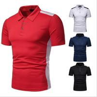 2019 Newest Hot Selling Cheap Wholesales T-shirt Mens Slim Fit Polo Shirt