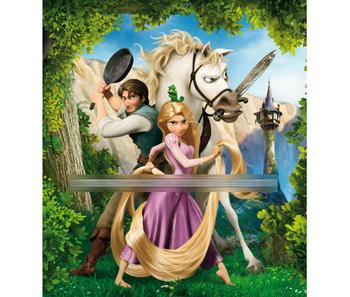 Princess With Prince Cartoon Wallpaper Buy Long Hair Princess Mural Wallpaper For Kids Tangled Princess Cartoon Wallpaper Rapunzel Princess Picture