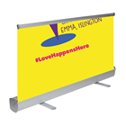 Custom Printing Scrolling Roll-Up Banner Stands Manufacturer For Rent