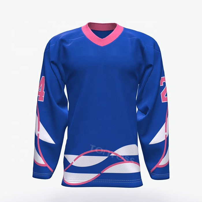 Úc ice hockey jersey trống ice hockey uniform