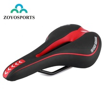 ZOYOSPORTS Comfortable Exercise Bike Seat For Cycling Soft Comfort Mountain Road Bicycle Saddle