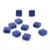 Wholesale Seed Accesory Stone Selected Nature Cube Lapis Lazuli Bead For Jewelry Making