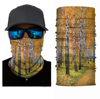 Tree Custom Bandana Printing Neck Gaiter Headwear Seamless