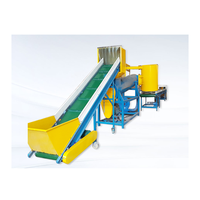Pet Bottle Recycling Machine Crush Wash Dry Assembly Line